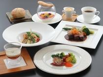 ◆夕食イメージ 洋食コース料理