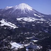 大山の冬(イメージ)