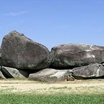 飛鳥のシンボル 石舞台古墳