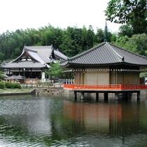 【安倍の文殊院】仲麻呂堂 (金閣浮御堂)