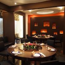 リノベーションオープンいたしました中国料理レストランでは個室も2室ご用意いたしております。