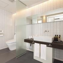 ≪ROYAL SUITE ROOM≫新しい和洋スイートルームは水周りも快適です。