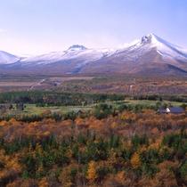【駒ヶ岳】秋の彩りが木々を染めていく駒ヶ岳