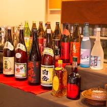 【祇園】酒類のイメージ