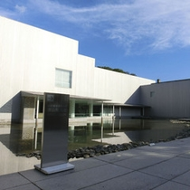【長野県信濃美術館・東山魁夷館】善光寺近くの美術館です。ホテルからは車約30分です。