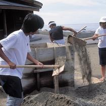 【奥能登塩田村】伝統的な塩作り体験が出来る(5〜9月)※お車で約120分