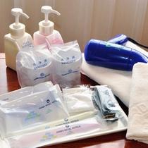 【客室アメニティ】清潔感のある客室アメニティが揃っているので安心♪
