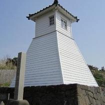 【福浦灯台】日本最古の木造灯台です ※ホテルよりお車で約20分