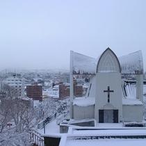 ヨハネ教会(冬)