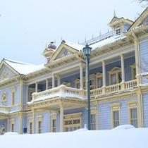 函館公会堂(冬)