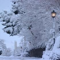 元町地区(冬)
