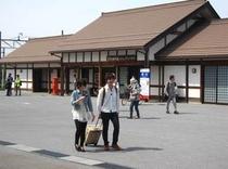 多賀大社駅前