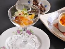 【食事】洋食・秋のフレンチコース