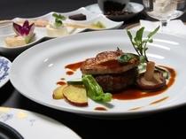 【食事】洋食・通年コース一例