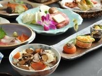 【食事】和食・秋の味覚会席