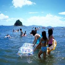 三河大島で海水浴!【夏季限定】
