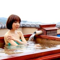 楽-露天風呂人イメージ