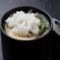 特別会席「葵」鰻茶碗蒸し