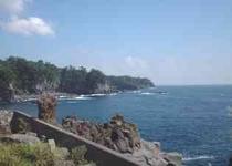 城ヶ崎海岸の海