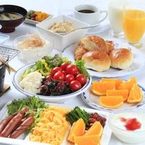 朝食バイキング 一例