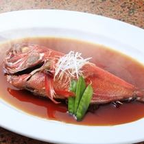金目鯛の煮つけ(事前の予約が必要です)