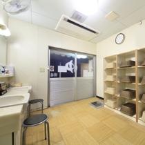 大浴場(脱衣所 男風呂)