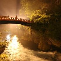 神橋ライトアップ