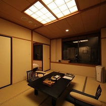 テラス付客室『月代』やまゆり 和洋室