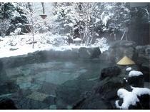 大浴場露天風呂(雪見風呂)