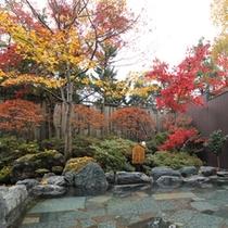 風林の湯(男性用露天風呂)11月20日撮影