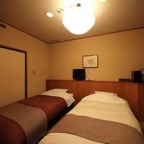 テラス付客室『月代』やまゆり 和洋室 ベッドルーム