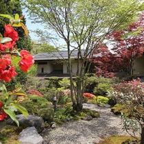 5月の中庭