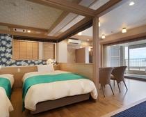 露天風呂付特別室(ジャグジー浴槽付)610号室