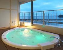 露天風呂付特別室(ジャグジー浴槽付)
