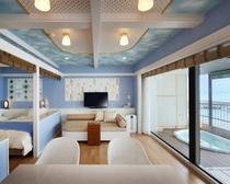 露天風呂付特別室(ジャグジー浴槽付)609号室