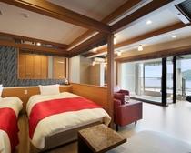 露天風呂付特別室(ジャグジー浴槽付)710号室