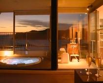 露天風呂付特別室(ジャグジー浴槽)