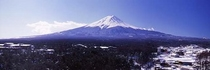 富士山 冬