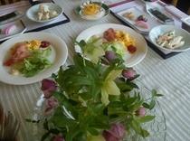 朝食の和定食イメージ