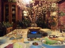 和洋折衷のご夕食