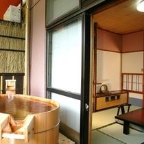 【禁煙】露天風呂付き客室