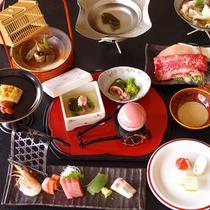 【春】レストラン夕食も豊富な品数をお出ししています