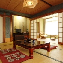 【和室10畳】和室10畳のお部屋のイメージです。