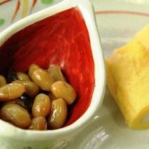 【朝食一例】戸隠の和朝食を提供しております。
