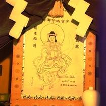 【御神殿】戸隠神社の宿坊である当館には御神殿がございます。