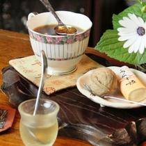 【喫茶 十輪】四季の珈琲【春】ブランデーに火をつけて、香りを楽しむ春のコーヒー