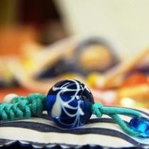 【十輪堂】きれいなトンボ玉