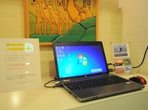 【館内備品】インターネット接続可能な閲覧用のパソコンを設置しております。
