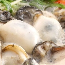 牡蠣鍋付き会席