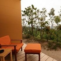 別荘「四季のかばん」からの風景
